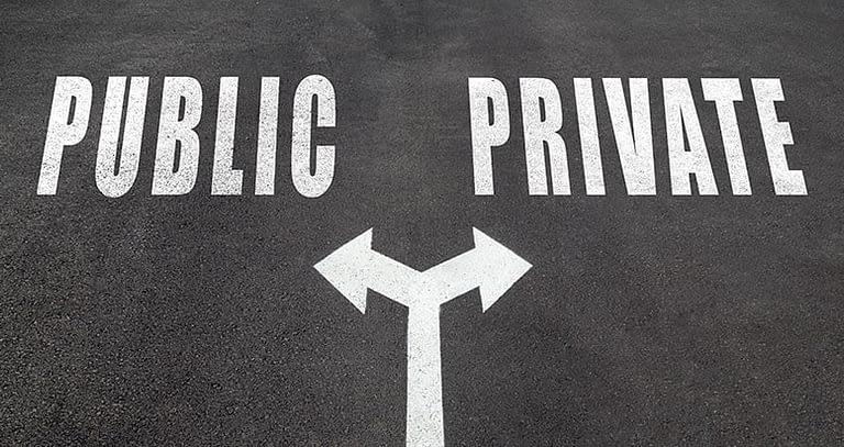 Public vs Private Blockchains