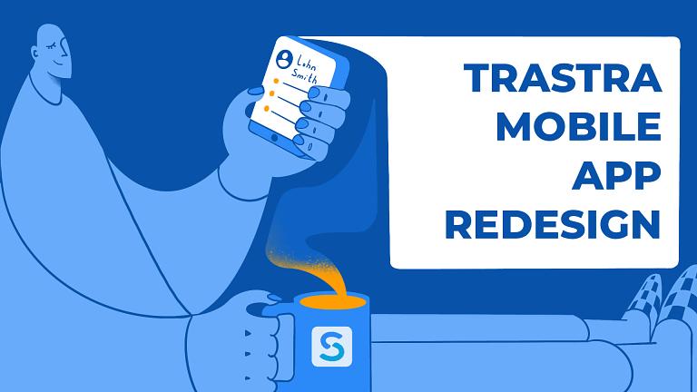 TRASTRA crypto mobile app
